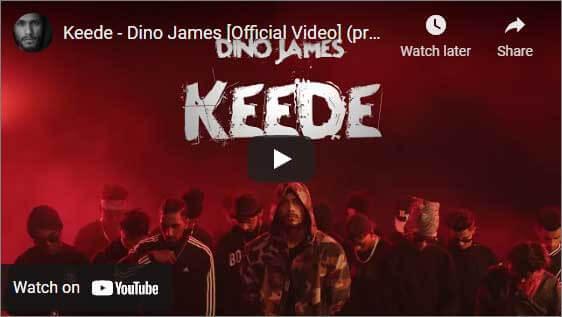 Dino James Keede Music Video