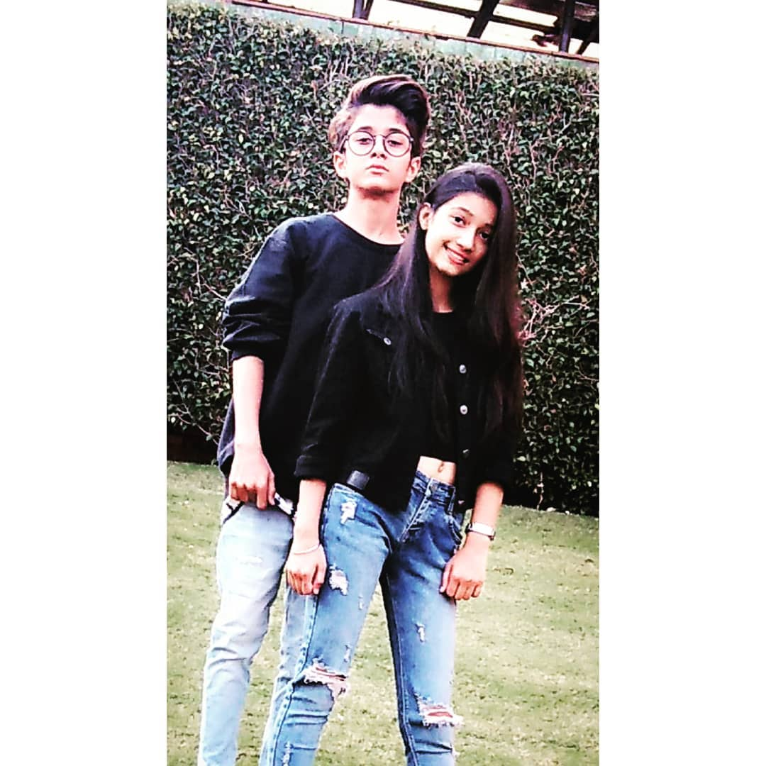Rahul Ghildiyal with his girlfriend Amrita Khanal