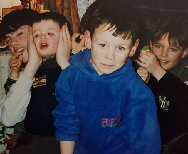 Sean Delaney's childhood photo