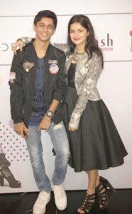 Avneet Kaur with her brother Jaijeet Singh