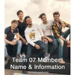 Team 07 Members Name & Information - NamesBiography