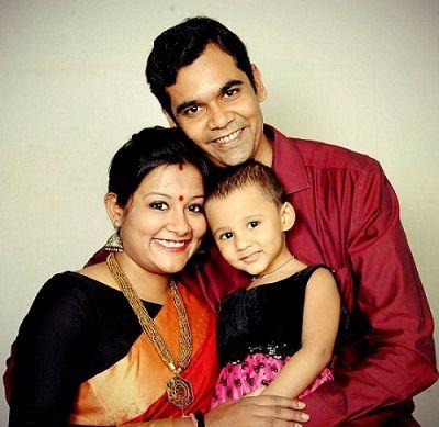 Akanksha-Verma family