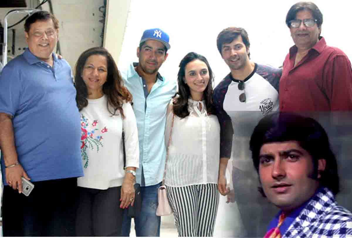 Varun Dhawan Family