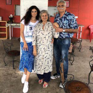 Pooja Batra Family