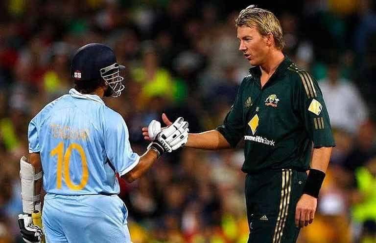 Brett Lee the world's fastest bowler