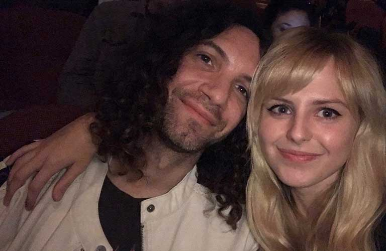 Danny with his wife